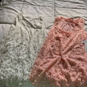 Two Sequin Tank Tops